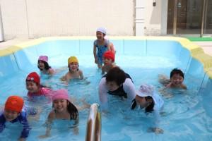 みんなで泳いだよ。(圧縮)