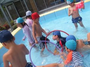 プール遊び4